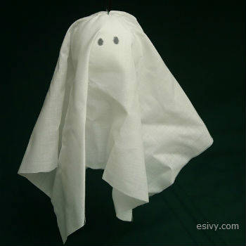 cloth ghost Halloween decor