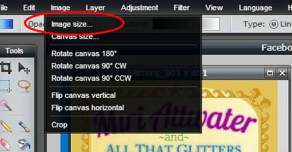 Pixlr tutorial: image size