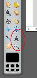 Pixlr tutorial: text tool