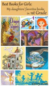 Best Books for Girls 1st grade