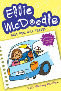 Best books for girls Ellie McDoodle 335x500