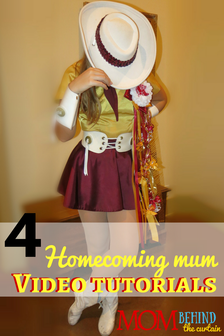 Get great DIY ideas from these videos about how to make Homecoming mums. Save money and make your Homecoming flower special by learning how to make a Homecoming mum. It's a Texas Homecoming tradition!