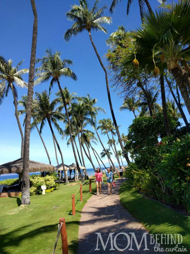 The best place to stay Maui - Hyatt Regency Resort beach walk