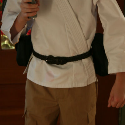 Luke Skywalker Halloween costume belt