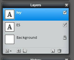 Pixlr tutorial: three layers