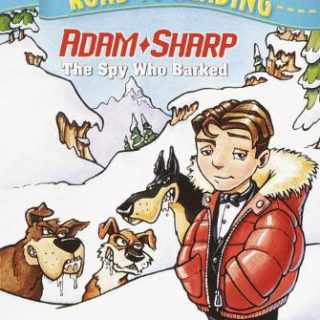 Book cover for Adam Sharp, boy with dogs - Adam Sharp - one of my son's favorite books in 1st grade - Book list - Best Books for boys in first grade