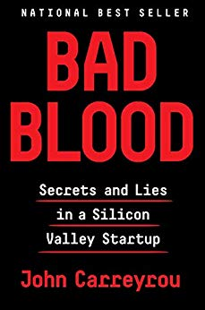 Bad Blood by Carreyrou makes a great book selection for book club if you have great questions to get the discussion started!