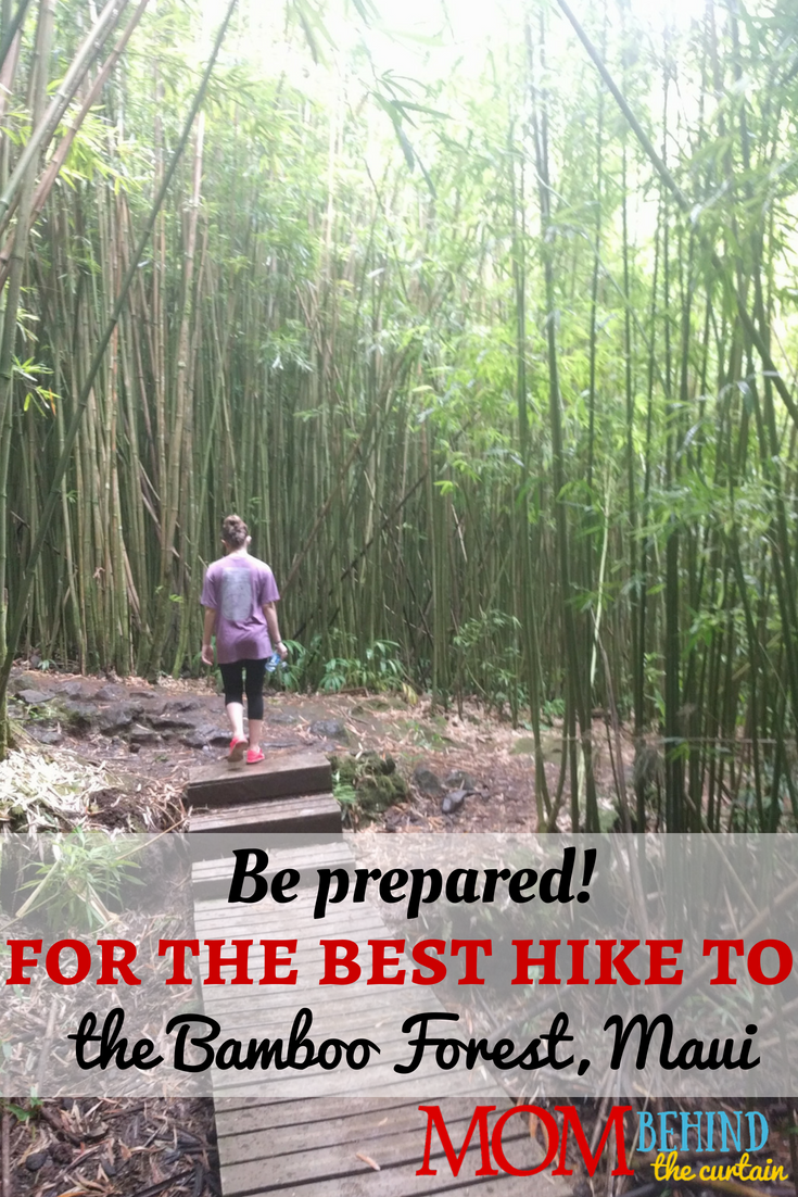 Not as easy as it looks! You'll want to be prepared to hike to the Bamboo Forest on Maui