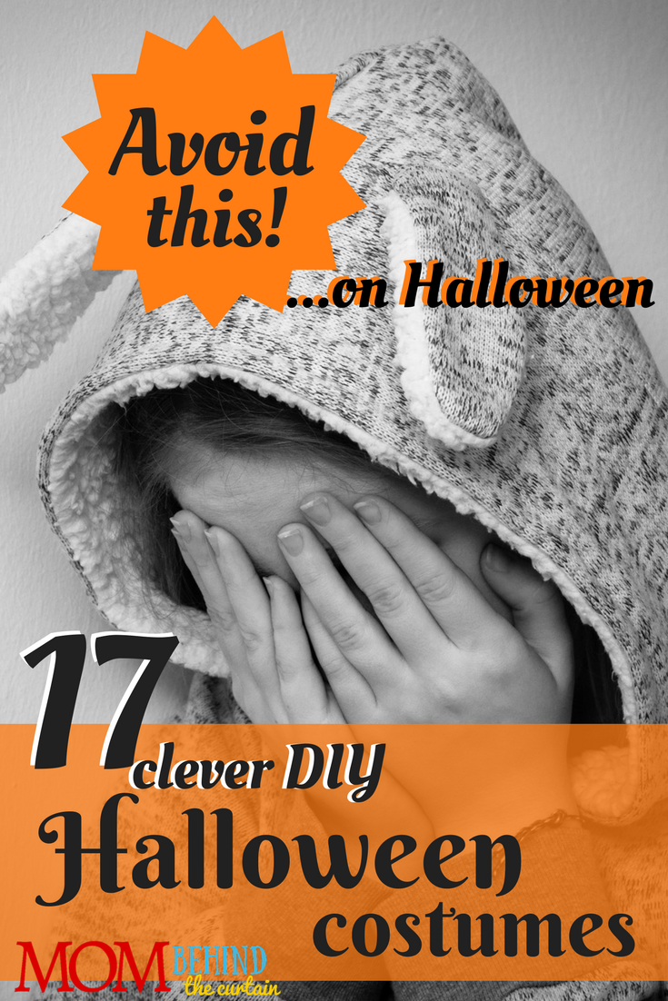 Avoid this! 17 creative and clever DIY Halloween costumes for kids and teens.