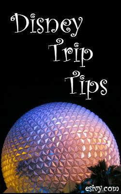 Disney Park Epcot ball at night - Disney Park Tips - what to pack for Disney World - some things you probably didn't think of