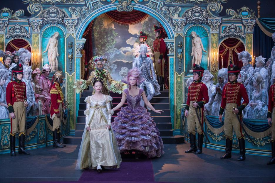The Disney Nutcracker and the Four Realms has gorgeous sets. There's a little something that the whole family can enjoy! See my family review of Disney's Nutcracker. #DisneysNutcracker #Christmastraditions #nutcracker