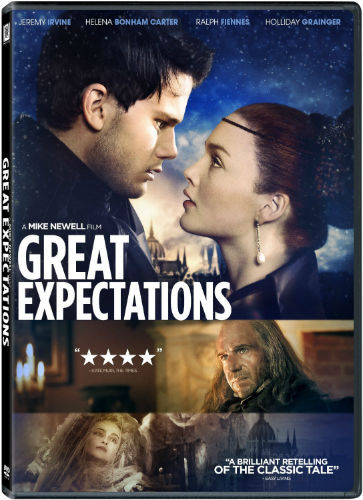 Great Expectations (2012) isn't as gloomy as the preview suggests and a good movie to inspire the reading of the novel to improve your SAT vocabulary.
