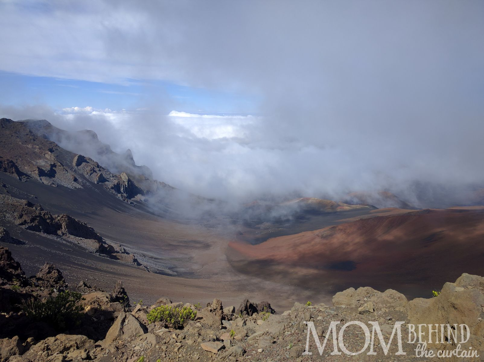 Haleakala Summit crater