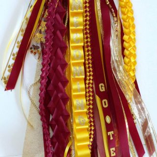 Homecoming mum ribbons - beginner tips & tricks when making your own ribbons braids or leis