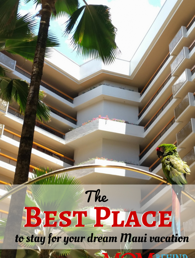 Which resort should you choose for your dream family Hawaiian trip when you travel to Maui? The BEST place to stay and why. Hyatt Regency Resort and Spa.