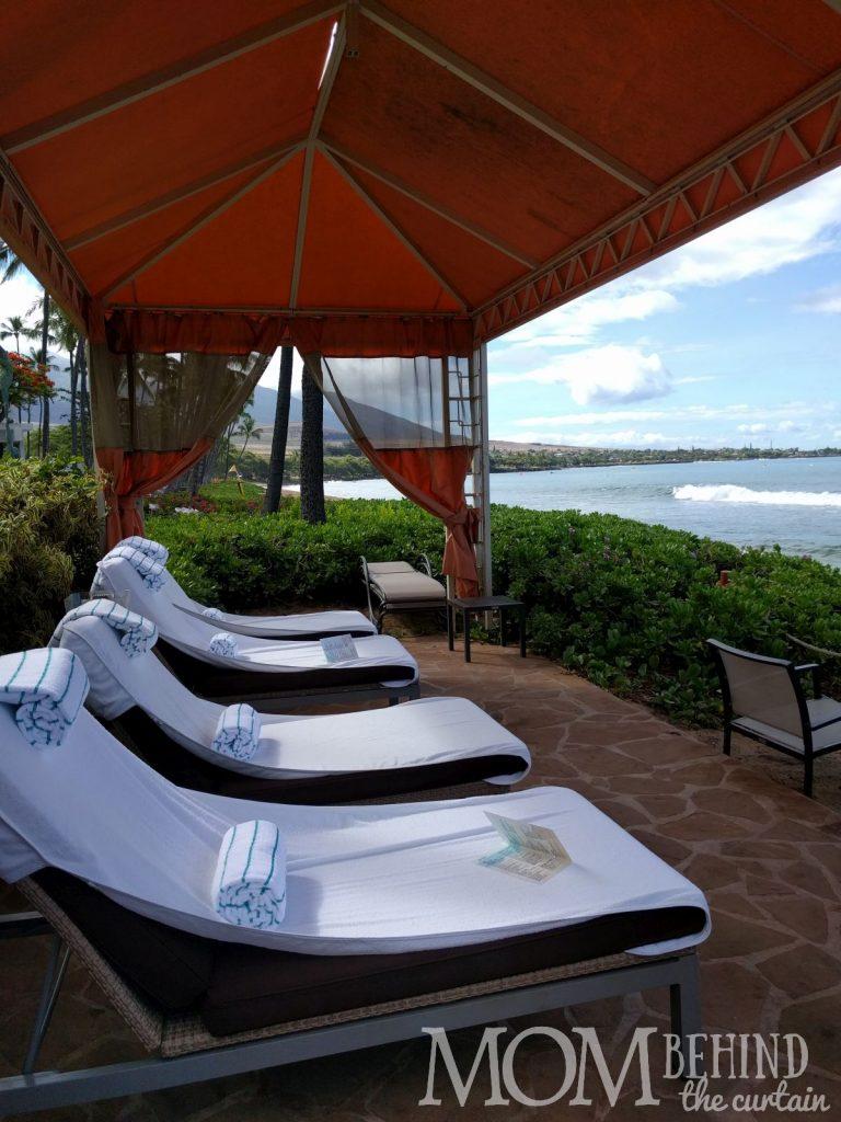 Hyatt Regency Maui beach rental - large tent