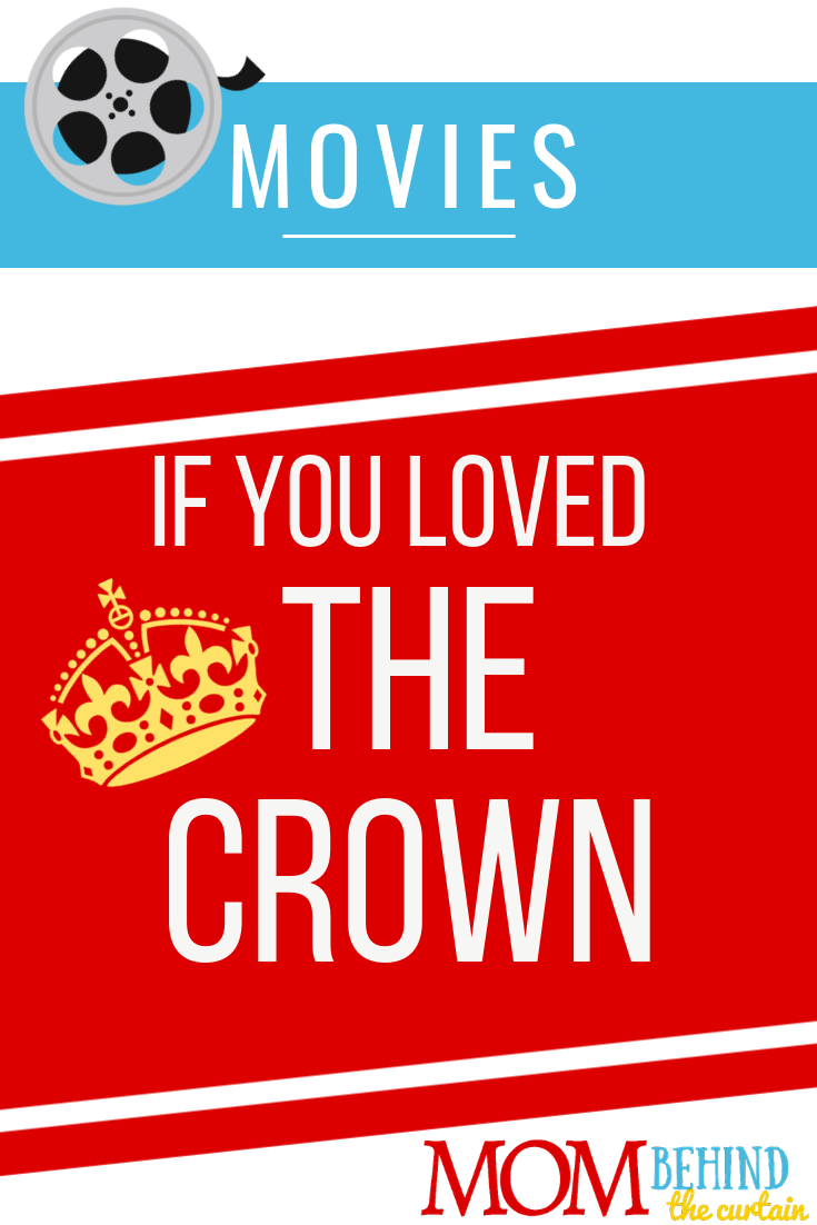 Movies to Watch if you loved The Crown - Movies for fans of The Crown - movies and tv shows you'll love if you loved the Netflix series The Crown. These make great gifts for The Crown fans!