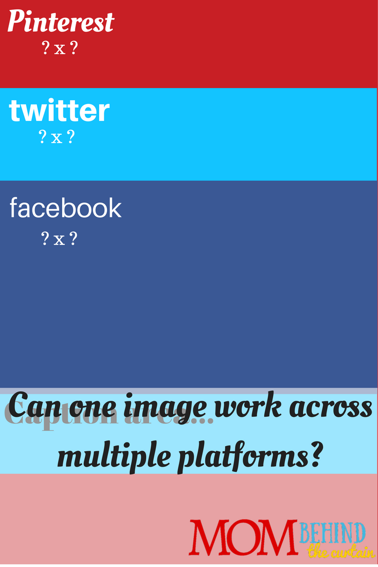 One image size for facebook twitter and pinterest?