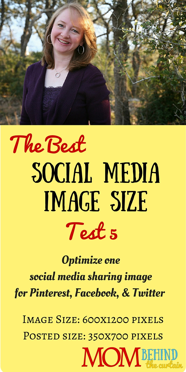 Test 4 of trying to find the best social media image size, a single image that will work for social sharing images on Facebook, Twitter, and Pinterest.