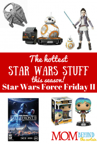My teen son had a blast following the events of the last Force Friday! This year, Find the Force is back with a new twist. I'm going to be watching to find great Star Wars gifts for my teen boy and girl, and maybe even their Dad. Even grown men love Star Wars stuff. And kids. And okay, even though I love Star Wars (and Han Solo) I don't need the stuff, but some women like it too!