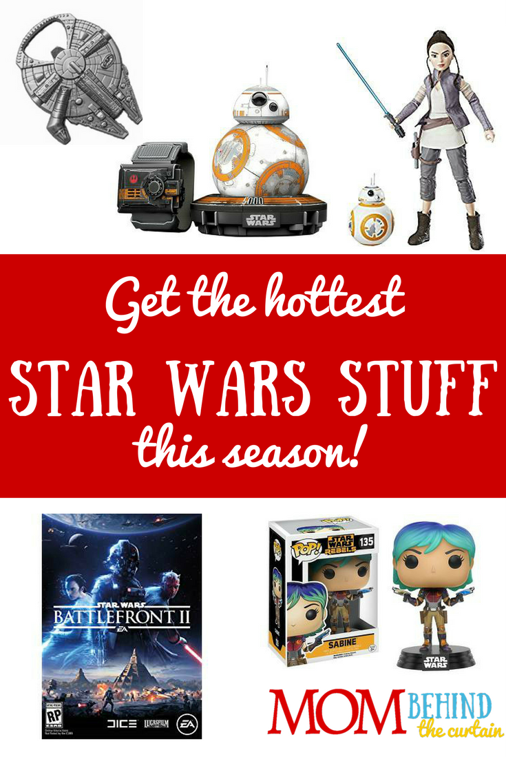 It's not too early to start your holiday shopping! Find great Star Wars gifts teen boys and girls, and maybe even Dad, too. Even grown men love Star Wars stuff. And kids. And okay, even though I love Star Wars (and Han Solo) I don't need the stuff, but some women like it too!