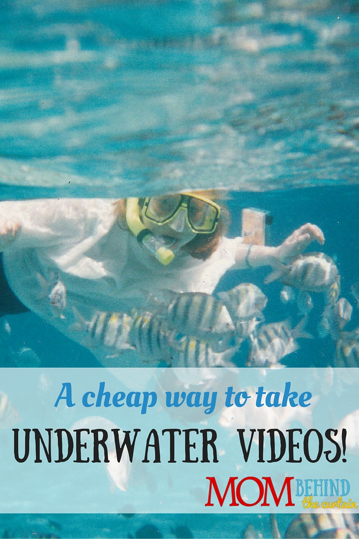 A cheap hack for taking underwater videos on your snorkeling trip on your tropical island vacation!