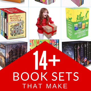 Book sets make great Christmas gifts for kids! A single book might not sound exciting. But there is something about a boxed book set that promises more adventure! Check out this list of my kids' favorite book boxed sets. Form classic book sets to sets that are popular in elementary school and high school now. Books for kids of all ages!