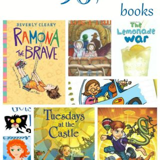 collage of book covers for best books for kids, my kids 96 favorite books