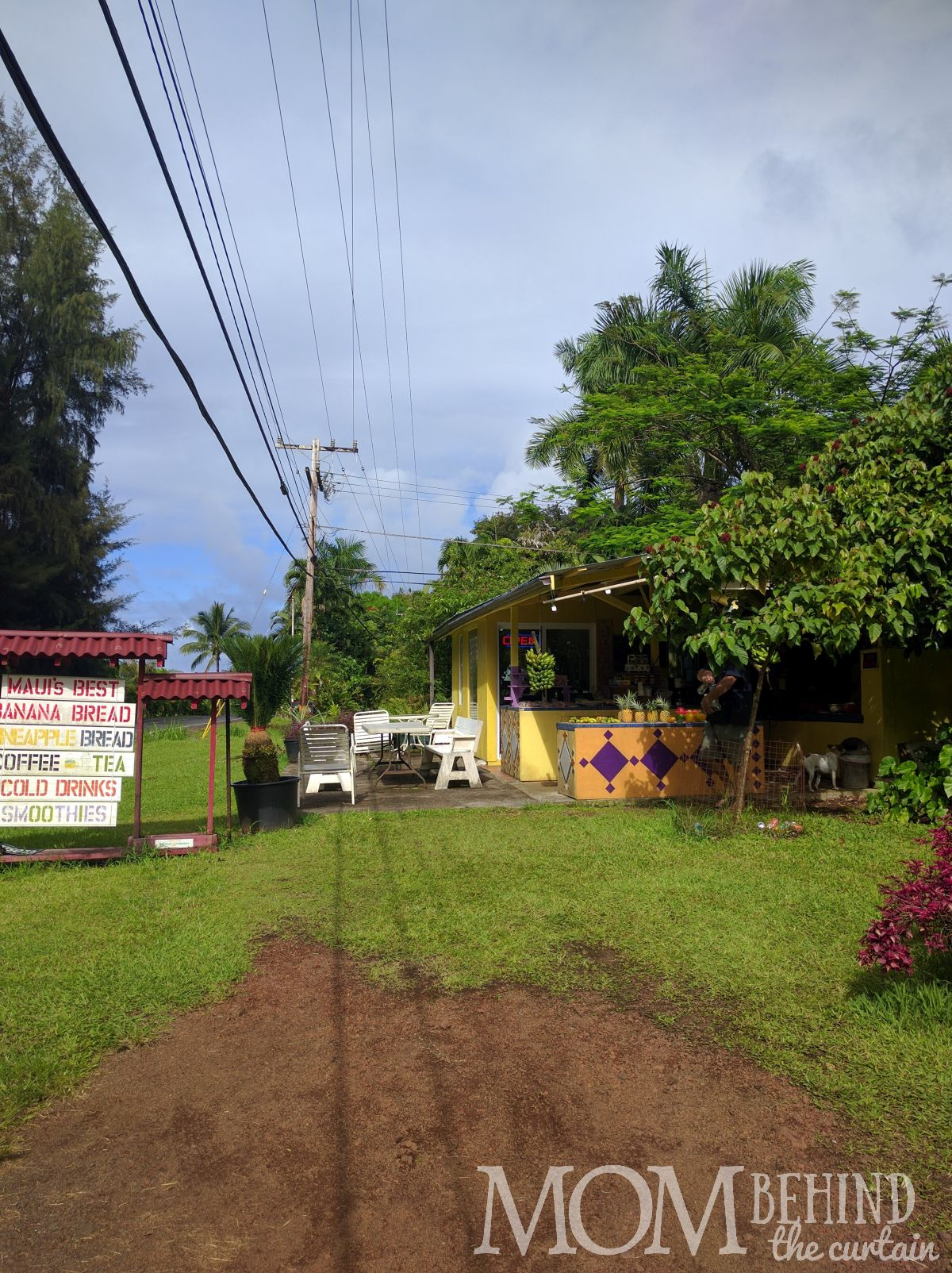 Fruit stand - best place to eat onRoad to Hana