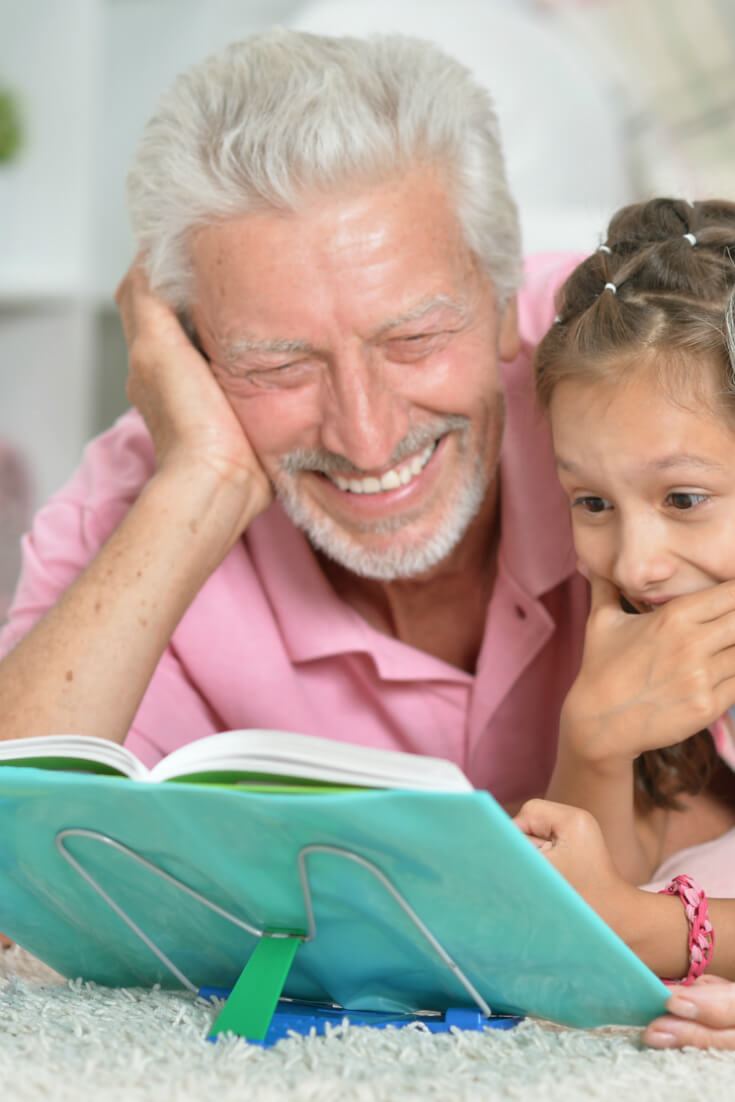 3 ways grandparents can encourage their grandchildren to read: 10 best books for reading to grandchildren, books to have, & more than 96 books to give to grandchildren categorized by age and grade level.
