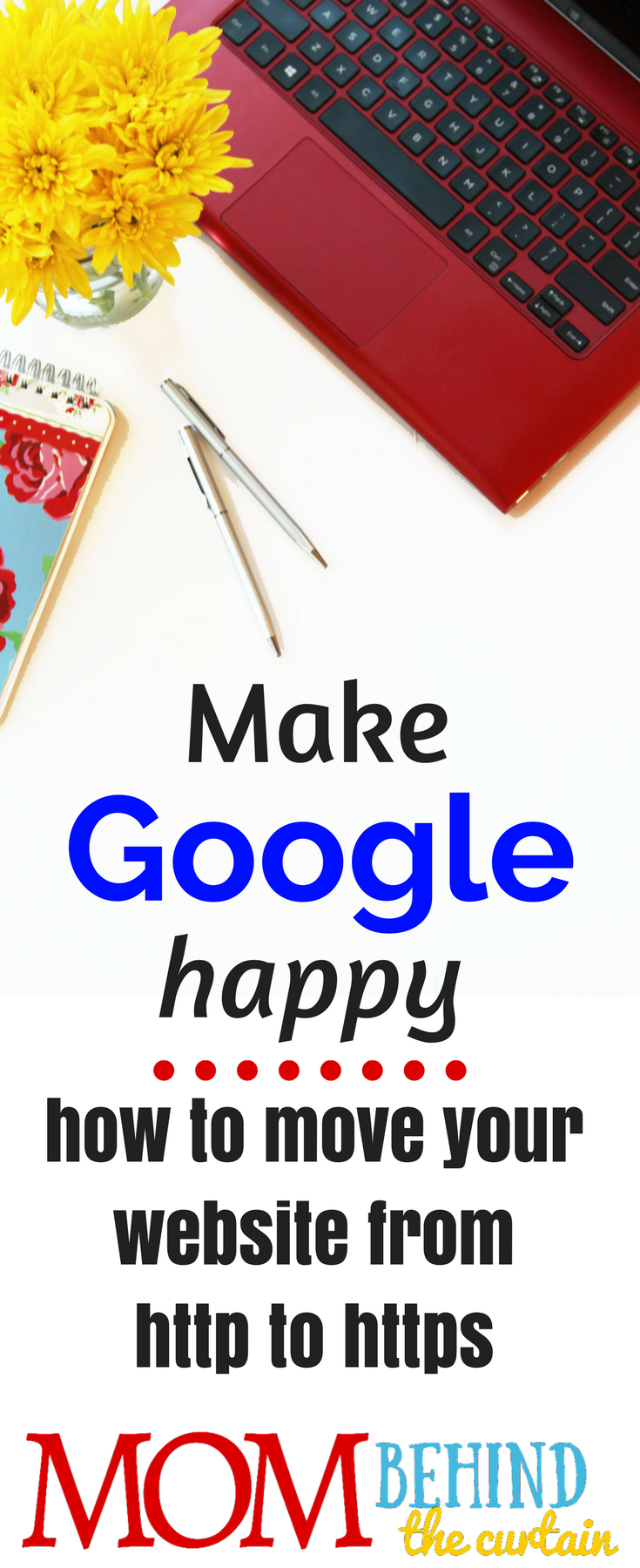 Blogging on WordPress? How to make Google happy. How to move your website from http to https. Why you need it (not just because it will make Google happy), how to do it without coding! And how to preserve your SEO.